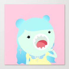 Sweet Kawai zombie Canvas Print