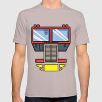 Transformers - Optimus P… Mens Fitted Tee Cinder SMALL