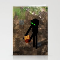 Enderman Stationery Cards