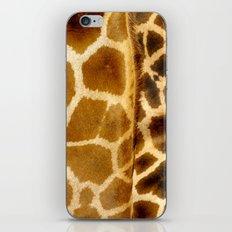 Giraffe skin. iPhone & iPod Skin