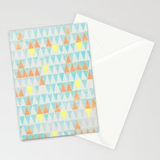 Triangle Patterns Stationery Cards