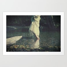 water walk Art Print