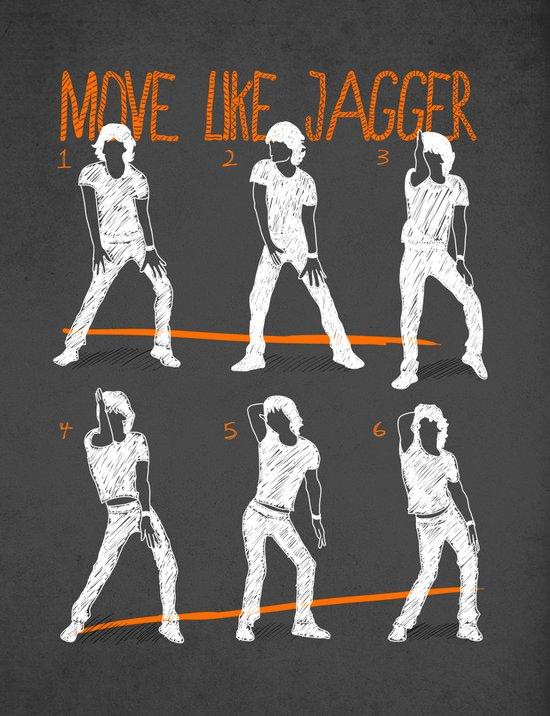 Move Like Jagger 2 Art Print