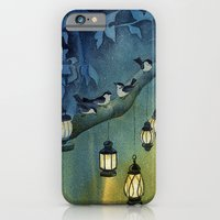 iPhone & iPod Case featuring Snow Birds by Dana Martin