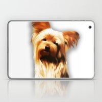 Yorkshire Puppy Tiny Dog Laptop & iPad Skin