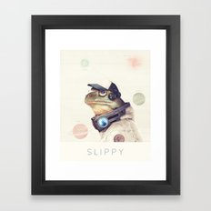 Star Team - Slippy Framed Art Print