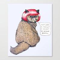 Cat Style Canvas Print