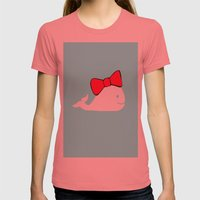 Whale Womens Fitted Tee Pomegranate SMALL