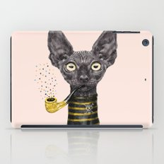 Black Cat iPad Case