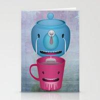 Tea Potty Stationery Cards
