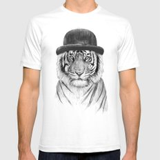 Welcome to the jungle Mens Fitted Tee White SMALL