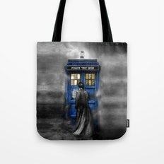 Tardis Doctor Who Lost I… Tote Bag