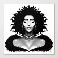 Madame Impact Canvas Print