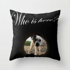 My dog Kira  Throw Pillow