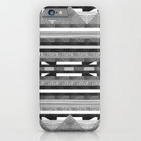 DG Aztec No.2 Monotone iPhone 6 Slim Case