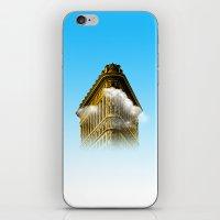 Flat Iron Graphic iPhone & iPod Skin