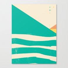 Secret Surf Map 002 — … Canvas Print
