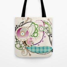 Autumn tangle, sienna - purple color set Tote Bag