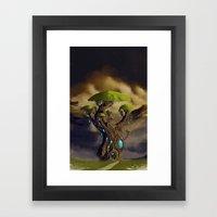 The Great Portal Tree Framed Art Print