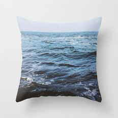 Water sea 4 Throw Pillow