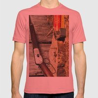 Winchester Model 53 Mens Fitted Tee Pomegranate SMALL
