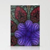 Psychedelic Botanical 2 Stationery Cards