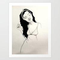 Ari Art Print