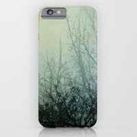 iPhone Cases featuring Dark Morning II by The Last Sparrow