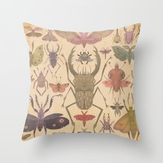 Entomologist's Wish Throw Pillow