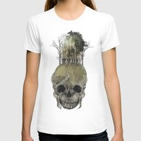 Lost Woods Womens Fitted Tee White SMALL
