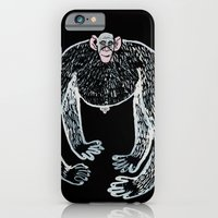 iPhone & iPod Case featuring ape and his little friend by Agata Kowalska