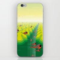 SF SolarBugs iPhone & iPod Skin