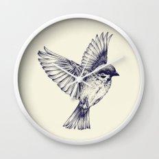 lost bird Wall Clock