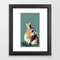 Teeny Framed Art Print