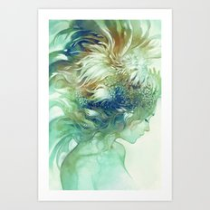 Comb Art Print