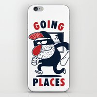 Going Places. iPhone & iPod Skin