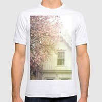 Cottage And Magnolias Mens Fitted Tee Ash Grey SMALL