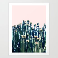 Cactus V5 #society6 #decor #buyart Art Print