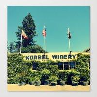 Korbel Winery Canvas Print