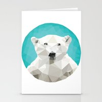 bear Stationery Cards featuring ♥ SAVE THE POLAR BEARS ♥ by ℳixed ℱeelings
