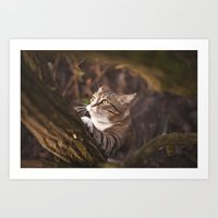 Chrapcio The Fierce Art Print