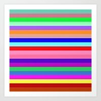 Flagged Art Print