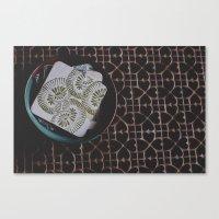 Coasters Canvas Print