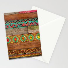 Indian Wood Stationery Cards