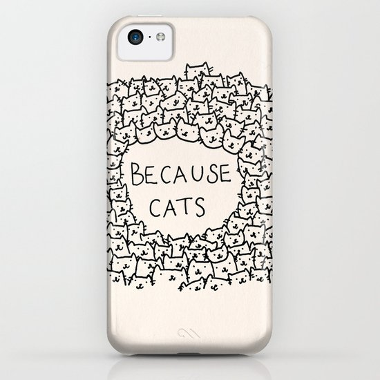 Because cats iPhone & iPod Case