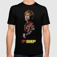 (P)IMP Mens Fitted Tee Black SMALL