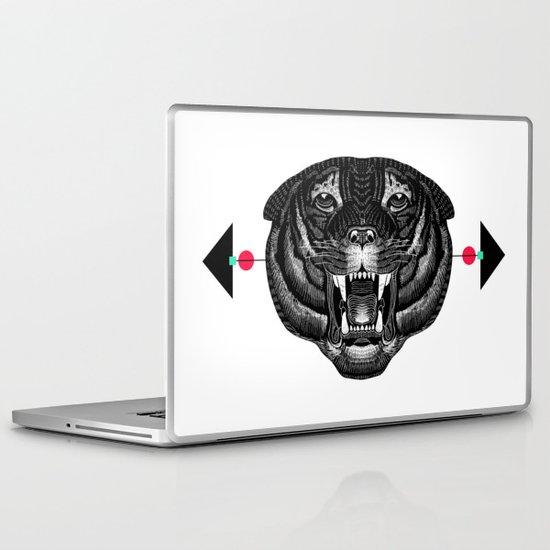 Roar My *--Tiger--* Laptop & iPad Skin