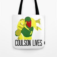 Agent Coulson, My One Go… Tote Bag