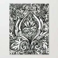 Flora #4 Canvas Print