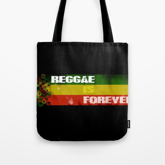 Reggae Is Forever II Tote Bag